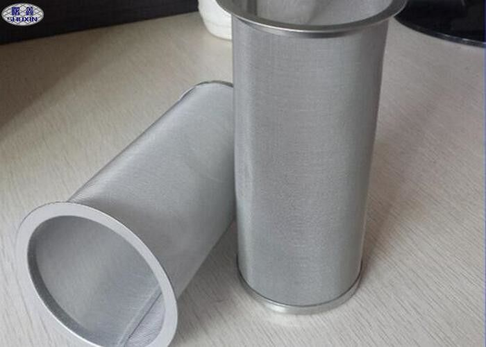 Cold Brew Stainless Steel Coffee Filter Woven / Welded COC ISO Certificated